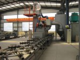 Qgnシリーズ鋼管の内部の壁のクリーニングのショットブラスト機械