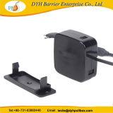 Dyh Carrete de cable USB retráctil de extensión USB Multi cargador, cargador para teléfono móvil