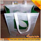 Saco tecido PP descartável biodegradável, saco não tecido