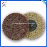 Disco abrasivo de Nylon Non-Woven Rodas de polimento
