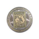 Австралия почтовые праздновать металлические монеты сувениров с двойным покрытием (Ele-C204)