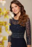Платье Mermaid шифоновое с отбортовывать платье вечера повелительниц болера