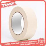 Cinta adhesiva adhesiva da alta temperatura del papel de Crepe 48m m