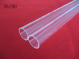 Claro de alta temperatura tubo de cuarzo