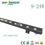 Luz impermeável da arruela da parede do diodo emissor de luz da cor popular de 12W RGB/Single
