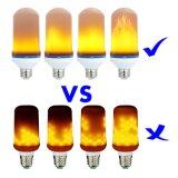 Luz decorativa do novo produto AC26/2785-265V e 5W 1300K chama trémula lâmpada LED