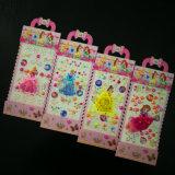 Принцесса декоративные красочные DIY клей Pearl наклейка для девочек