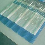 De poly Materialen van het Huis van het Blad van het Polycarbonaat van het Carbonaat Dak Golf Poly