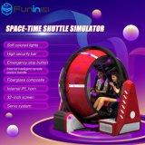 Simulateur de navette d'espace-temps d'arcade de rotation de Zhuoyuan machine rotatoire de jeu de 720 degrés