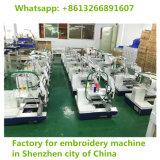 Solos plano + cequi principales + máquina mezclada automatizada Cording del bordado