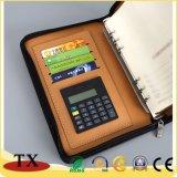 Écologique B5 A5 Business Notebook avec zip et journal d'utilisation quotidienne