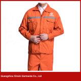 Bata de trabajo barata al por mayor de la chaqueta de la fábrica (W245)