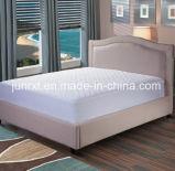 BSCI, Oeko-Tex, protetor acolchoado impermeável do colchão da alta qualidade, antiderrapante, colchão fino bom do sono
