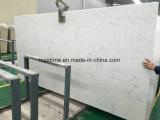 Белого каррарского сконструированы для слоя Wholesales кварцевого камня