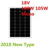 панель солнечных батарей 18V 100W 105W Mono (2018)