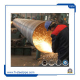 물자 X56 X70를 가진 큰 Od 강관, 기름에서 사용되는 나선형 용접된 관 및 가스 산업