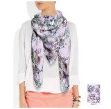 Rosen konzipieren reinen Silk Schal