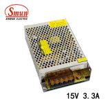 Smun S-50-15 50W 15V 3.4A Ein-Outputschaltungs-Stromversorgung