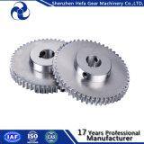 Produzione dell'attrezzo di dente cilindrico della cremagliera e del pignone di Bore5/6/6.35/7/8/10/12 millimetro per il motore