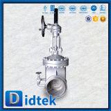 Didtek China Válvula de compuerta de Wcb de fábrica con engranaje de tornillo sinfín