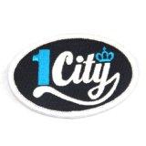 Comercio al por mayor grueso el logotipo de la ciudad de parches bordados personalizados