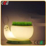 Decoración Festival forma animal lindo Noche de Luz LED LED Lámpara de mesa lámparas de escritorio Libro de las lámparas LED