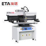Eta (P12) flache Schaltkarte-Lötmittel-Pasten-halbautomatischer Silk Bildschirm-Drucker für LED-Produktionszweig