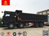 HOWO Sinotruck 371 8X4 50トンの重いダンプまたはダンプカートラック