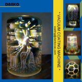 Bella strumentazione di vetro della metallizzazione sotto vuoto della lampada PVD