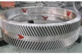 Профессиональная подвергая механической обработке шестерня индустрии Doublehelical