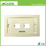 Los mejores placa frontal portuaria doble del socket de pared del enchufe de la información sobre los precios 120