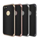 Couverture molle antichoc ultra mince de cas de dos en caoutchouc de luxe pour l'iPhone 8/8plus/X
