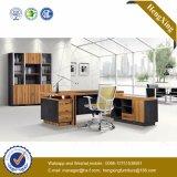 Tableau de bureau exécutif de noix de meubles de bureau en bois solide (HX-D9023)