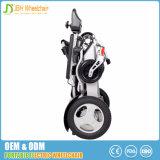 Cadeira de rodas portátil de pouco peso da mobilidade para o uso da parte externa