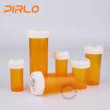 tubo de ensaio do comprimido da tabuleta do frasco da farmácia da segurança da criança de 30ml 50ml 60ml 80ml 120ml 160ml 240ml que empacota tubos de ensaio reversíveis plásticos