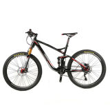 26er 20speed AluminiumMountian Fahrrad mit voller Aufhebung-Luft-Gabel