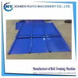 Popular fácil ingresar Perfil de bloqueo del techo de la abrazadera de metal de hoja de techado de molino/máquina formando Roll