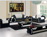 حديث يعيش غرفة أريكة مع جلد قطاعيّ [ركلينر] أريكة