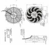 Ventilateur axial Spal VA09-AP12/C 54 s de la Chine fournisseur