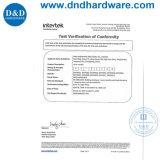 Het Handvat van de Deur van de hefboom voor de Interne Deur van het Metaal met En1906- Certificaat