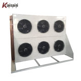 Tipo de aletas do evaporador frigorífico