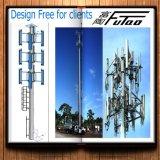 Futaoの最もよい販売は35FTの鋼鉄Monopole電流を通した