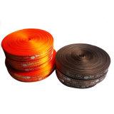 La ropa suave de la etiqueta el logotipo de la calidad de impresión personalizada cinta de satén