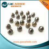 Hartmetall-Tasten für Felsen und Bohrgerät