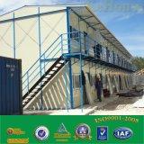 Het Geprefabriceerd huis van twee Vloer voor Tijdelijk Bureau/PrefabHuis voor het Leven /Container van de Arbeider Huis