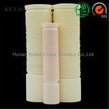 Rohi solidi di ceramica, tubi porosi di ceramica, tubi protettivi di ceramica, tubi di ceramica, tubi quadrati di ceramica, tubi filettati di ceramica con di ceramica di avanzamento