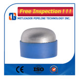 ANSI B16.9のバットによって溶接されるステンレス鋼の管の帽子