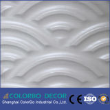 los paneles de pared de la onda 3D para el panel decorativo interior