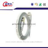 Prix d'usine Cat5 Cat5e CAT6 Cat 6A Cat7 Flat Ethernet Cable SFTP Network LAN Patch Cable avec RJ45