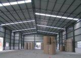 La estructura de techos para almacén